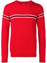 Perfect Moment Orelle Sweater Red