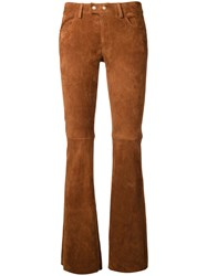 Sylvie Schimmel Straight Trousers Brown