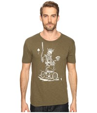 Lucky Brand El Rey Graphic Tee Ivy Green Men's T Shirt