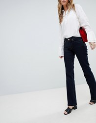 Oasis Flared Jeans Rinse Wash Blue