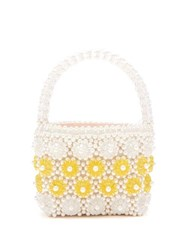 Shrimps Shelly Faux Pearl Embellished Bag Cream Multi