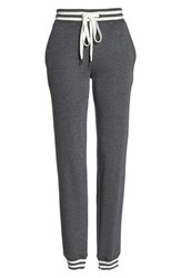 Felina Geena French Terry Jogger Pants Heather Caviar
