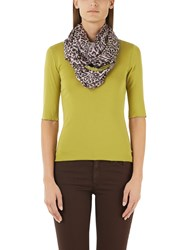 Marc Cain Stretch Cotton Jersey Top Lime