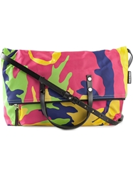 Dsquared2 Camouflage Tote Yellow And Orange