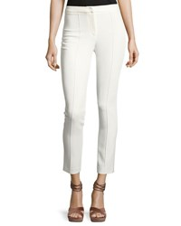 Adam By Adam Lippes Seamed Cigarette Pants White