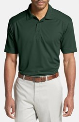 Men's Big And Tall Cutter And Buck 'Genre' Drytec Moisture Wicking Polo Hunter Green