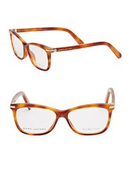 Marc Jacobs 50Mm Tortoiseshell Square Optical Glasses Brown
