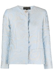 Escada Paisley Print Fitted Jacket 60