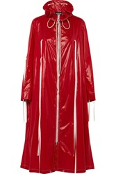 Calvin Klein 205W39nyc Oversized Coated Shell Jacket Red Gbp