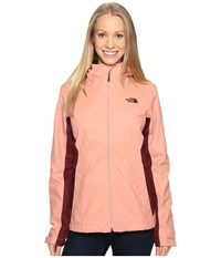 The North Face Arrowood Triclimate Jacket Rose Dawn Deep Garnet Red Women's Coat Beige