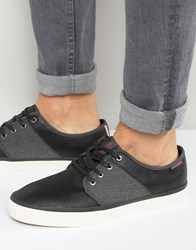 Jack And Jones Turbo Plimsolls Black