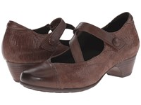 Aravon Portia Brown Multi Women's Maryjane Shoes