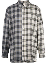 Mostly Heard Rarely Seen Plaid Colour Block Shirt 60