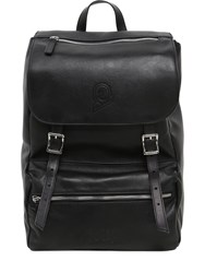 Invicta My Jolly Total Black Leather Backpack