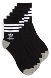 Adidas Men's 3 Pack Quarter Crew Socks