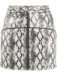 For Love And Lemons Snakeskin Print Mini Skirt 60