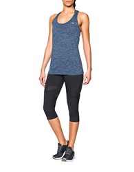 Under Armour Heathered Twist Tech Tank Top Blue