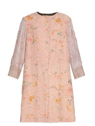By Walid 19Th Century Cotton Piano Shawl Coat Pink Multi