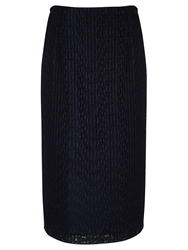 Alice By Temperley Somerset By Alice Temperley Lace Pencil Skirt Navy
