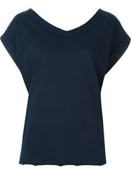 Marni Back Tie Fastening Top Blue