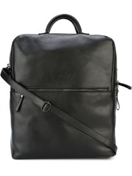 Marsell Marsell Front Zip Backpack Black