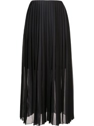 Fabiana Filippi Pleated Maxi Skirt Black