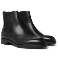 Paul Smith Canon Leather Chelsea Boots Black