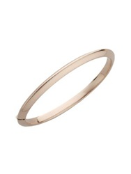 Roberto Coin Classica 18K Rose Gold Knife Edge Bangle Bracelet