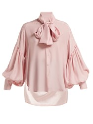 Hillier Bartley New Romantic Polka Dot Silk Blouse Cream Multi