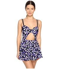 Kate Spade Spinner Swim Dress Rich Navy