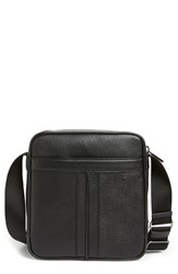 Men's Tod's Double Stripe Leather Messenger Bag