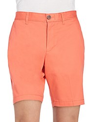 Original Penguin Basic Chino Shorts Spiced Coral