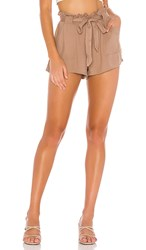 Bb Dakota Jack By Belt It Out Short In Tan. Sienna