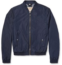 Burberry Shell Bomber Jacket Navy