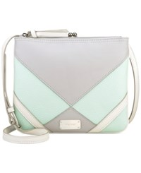 Nine West Jaya Crossbody Metallic Straw
