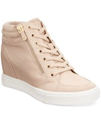 Aldo Women's Ottani Wedge Sneakers Nude