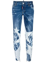 Dsquared2 Twiggy Big Star Jeans Blue