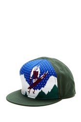 Bioworld Ski Baseball Cap Green