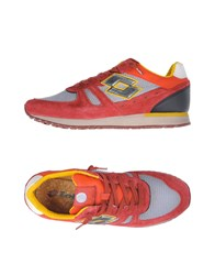 Lotto Leggenda Sneakers Red
