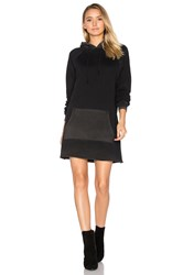 Cotton Citizen The Milan Long Sleeve Dress Black