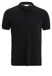Ck Calvin Klein Pete Fitted Polo Shirt Black