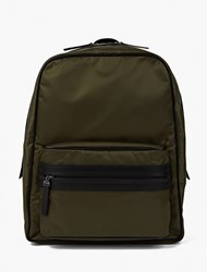 Maison Martin Margiela Khaki Nylon Backpack Green