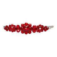 Simone Rocha Red Large Flower Hair Clip