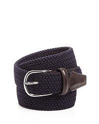 Andersons Anderson's Woven Stretch Belt Navy