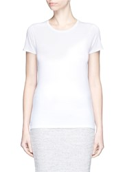 Rag And Bone 'Base' Crew Neck T Shirt White