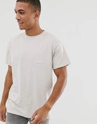 New Look Oversized T Shirt With Sun Print In Stone