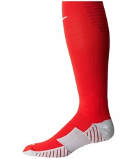 Nike Matchfit Over The Calf Team Socks University Red Gym Red White Knee High Socks Shoes
