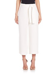 Lafayette 148 New York Finesse Eldridge Crepe Cropped Pants Cloud