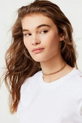Frasier Sterling Positano Choker Necklace Gold