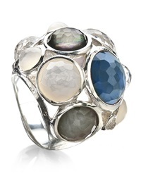Ippolita Wonderland Crystal Party Ring Indigo